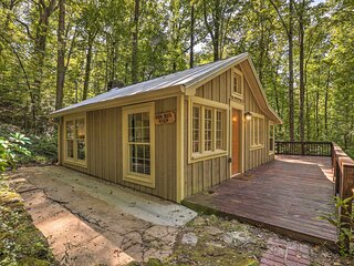 NEW! Private Cabin w/ Deck, 25 Miles from Atlanta!