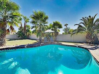 Dreamy Desert Retreat | Heated Pool | Near Golf, Tennis, Playground & Hiking