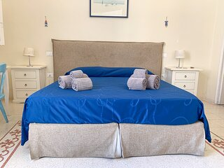 4 Balconi rooms- Mare, double room with private bathroom