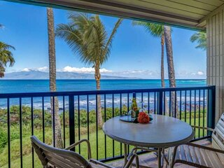 Need a Fall Break?  Napili Shores I-269 - Direct Oceanfront  - Great Monthly 202