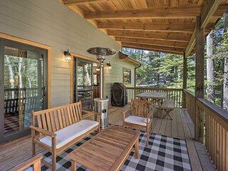 NEW! Treetop Cabin w/Hot Tub, Near Appalachian Ski