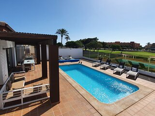 BRAND NEW Villa BELLA Golf Course-300M- beach,Caleta Fuste-Fuerteventura