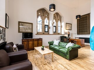 Stunning Church Conversion - 2 bedroom with secure parking!