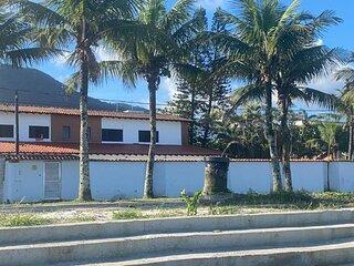 Casa Ampla com Vista MAR! Praia Grande (Jd. Solemar)