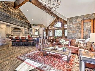 NEW! Custom Luxury Villa w/ Hot Tub & Walk to Lift