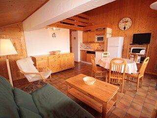 Appartement 2 pieces cabine+sous pente