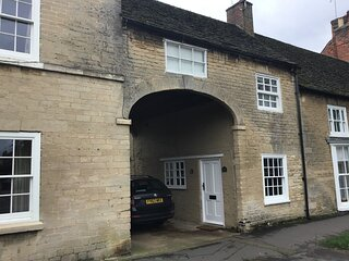 The Coach House in the centre of the historic town of Market Deeping in Lincs