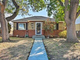 NEW! Denver Area Home w/ Yard, Walk to Dine & Shop