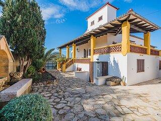 Beachfront Villa Es Clot