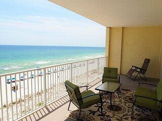 Unit 608: NEW Beautiful Beach Front Condo!  6th floor unit w/ amazing views!