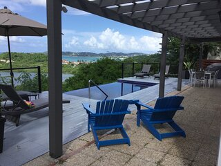 Work From Home & Zoom By The Infinity Pool At Bay View Villa
