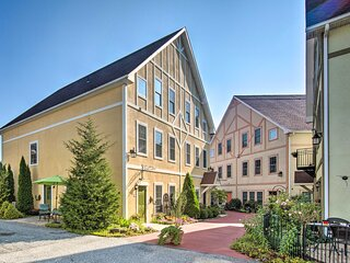 Townhome in Bavarian-Style Setting w/ Patio!