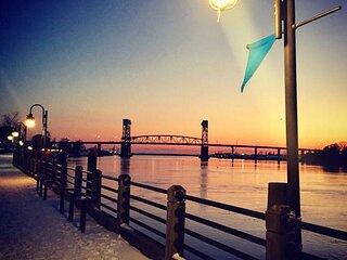 Wilmington Downtown Balcony River Overlook