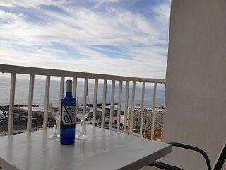 Disfruta de las vistas en nuestro balcón