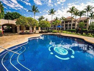 Shores at Waikoloa 234 -Large 2 Bedroom, Spacious Lanai with Ocean/Golf Views
