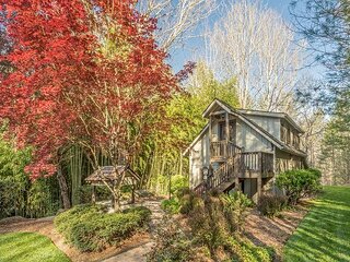 Mountain Lens | 3-Unit Wooded Retreat with Flagstone Patio & Mile-Long Trail