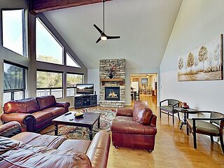 Gorgeous 2,682 Square Foot Home with Decks & Fireplaces | Next to Golf Course