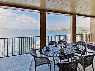 Lake-View Condo at The Waters | Alfresco Dining | Pool, Near Golf