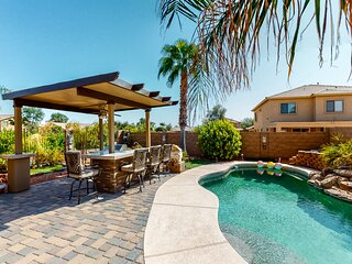 Spacious, family-friendly getaway w/ a private pool, outdoor kitchen, game room