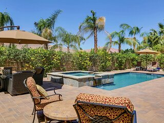 Family-friendly home in a gated community w/ private pool, spa & grill!
