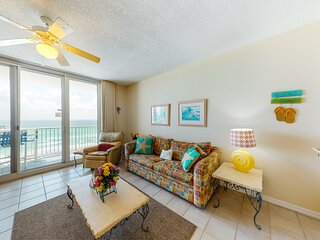 7th Floor Bright, Open Condo, Gulf Front Views, Close To Dining, and more!