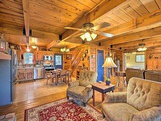 NEW! Cozy Mountain-Top VA Cabin: Hike, Bike & Fish