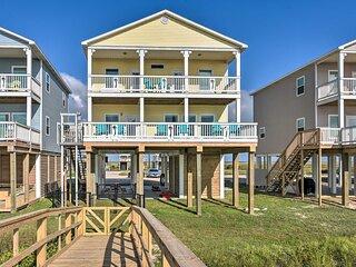 NEW! Beachfront Retreat w/ 2 Decks, Patio & Views!
