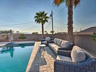 NEW! Modern Havasu Snowbird Escape w/ Pool & Patio