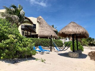 Villa Mariposa, Stunning Beachfront Paradise in Tankah - Serenity Tranquility
