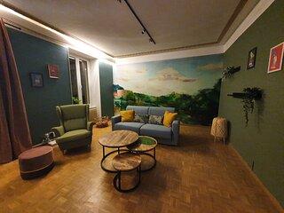 The Wooden - Spacious apartment - Nice neighboorhood