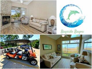 Bayside Bayou - Perfect Sandestin Condo with Golf Cart and 5* Host