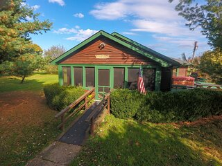 Fullbrooks Lodge 1st Choice Cabin Rentals Hocking Hills between Logan and Athens
