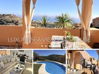 ⭐ LUXURY DREAM SEA VIEW PENTHOUSE | 3 BEDROOMS | WiFi | Pool