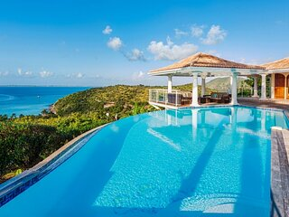 Villa Happy Bay | Beach View - Located in Tropical Happy Bay with Private Pool