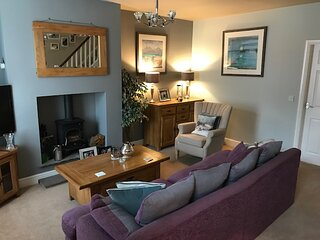 Cosy house set in historic town of Clitheroe.