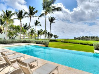 Mesmerizing 6-Bedroom Villa With Golf And Ocean Views In Punta Cana - DOM050