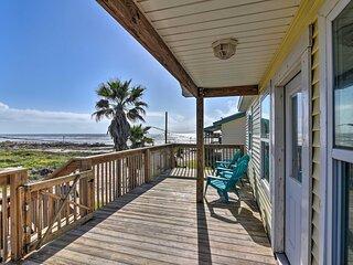 NEW! Surfside Beach Retreat w/ Deck & Gulf Views!