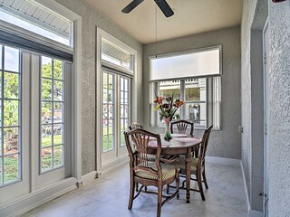 NEW! Canalfront Escape w/ Grill ~ 4 Miles to Beach