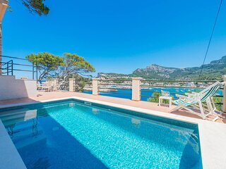 Ca'n Biri- Villa with exclusive views in Port of Sóller. Special discount