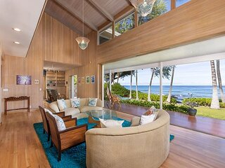 Private Oceanfront Escape | Pool & Spa | Epic Views, Steps to Water