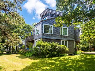 BICKE - East Chop Area,  Tri-Level Home with Distant Waterviews, Located just 1.