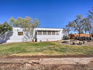 NEW! 'Desert Flamingo' 70s Themed Home w/ Mtn View