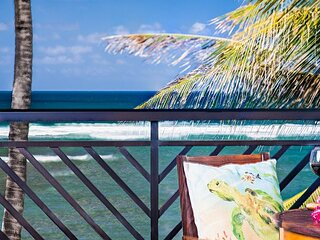 MAY REDUCED! Villa 317: Ocean View Turtle Bay Beachfront Legal Rental