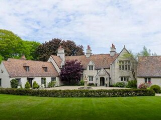 Magnificent Seaside Castle , English style Estate with private beach.