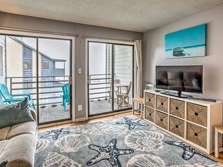 NEW! Intimate Beachfront Condo w/ WiFi & Balcony!