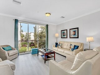 Upscale townhome with three levels of privacy, luxury, and comfort!