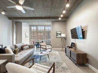 Kasa | Austin | Prime 1BD/1BA Downtown Apartment