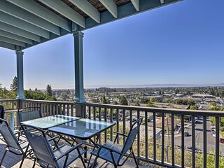 NEW! Hillside Home w/ SF Bay Views, 1 Mi to Dtwn!