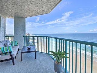 NEW! Luxe Daytona Beach Resort Retreat w/ Views!
