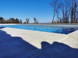 'Notre Bastide' piscine & jacuzzi studio 4 personnes